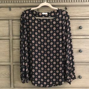 PLEIONE Patterned Blouse
